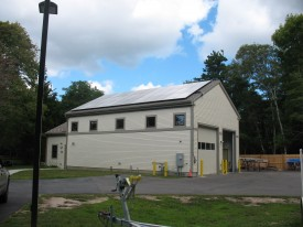 Maintenance Bldg Solar Panesl